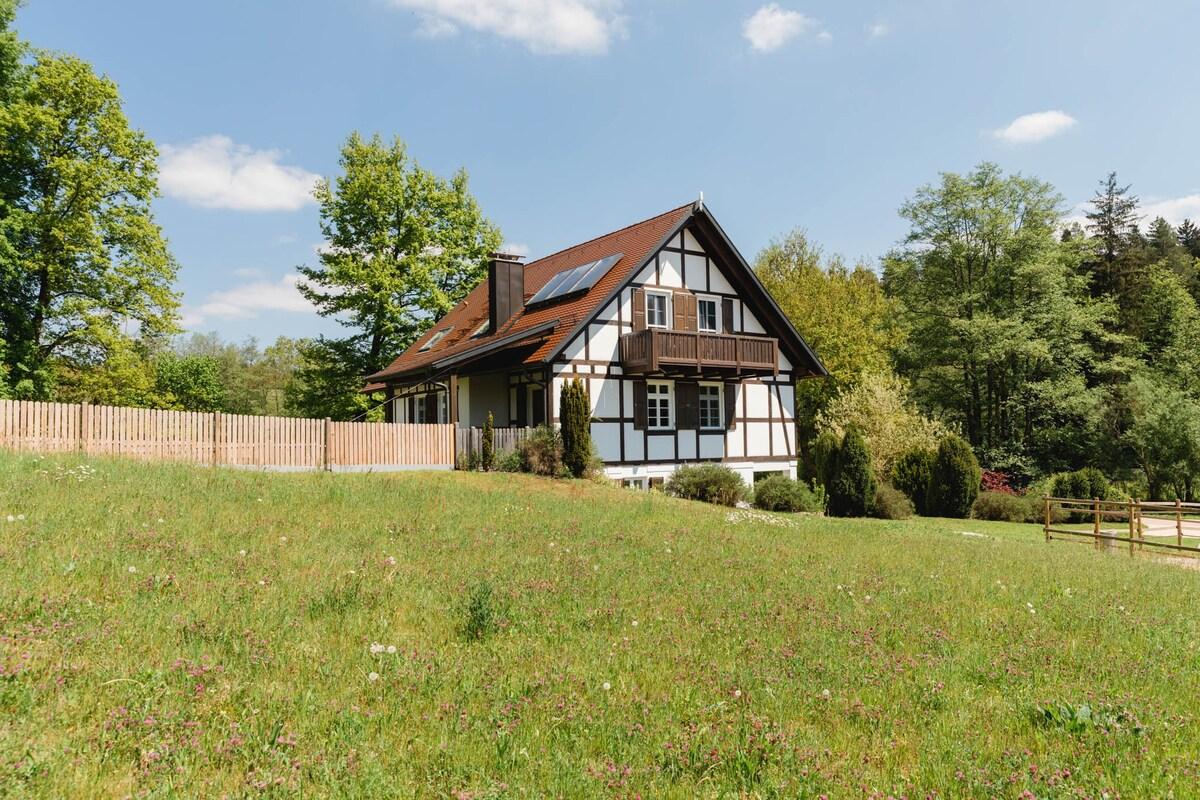 Ferienhaus Welzheimer Wald, Südseite
