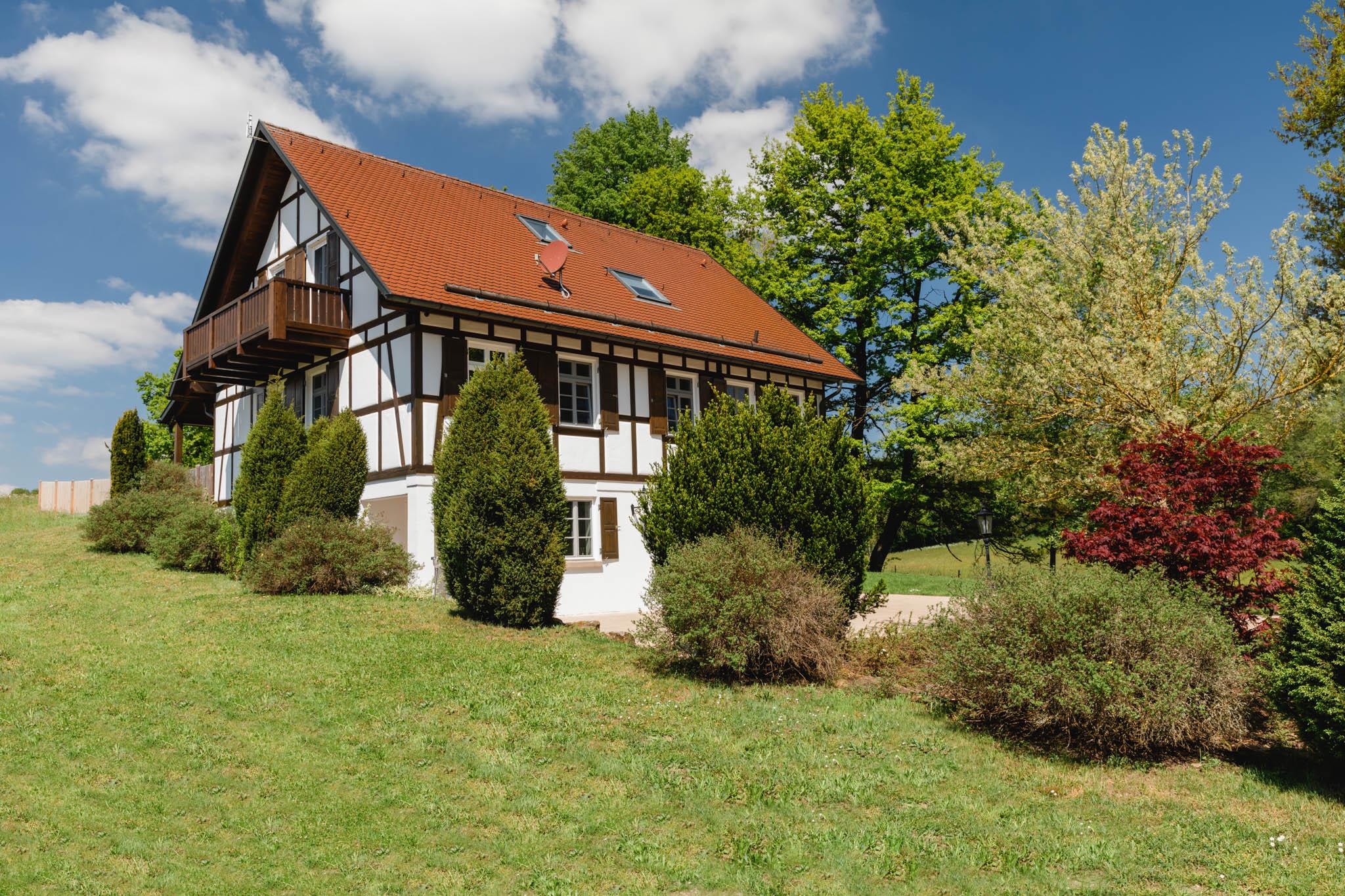 Ferienhaus Süd-/ Ostansicht