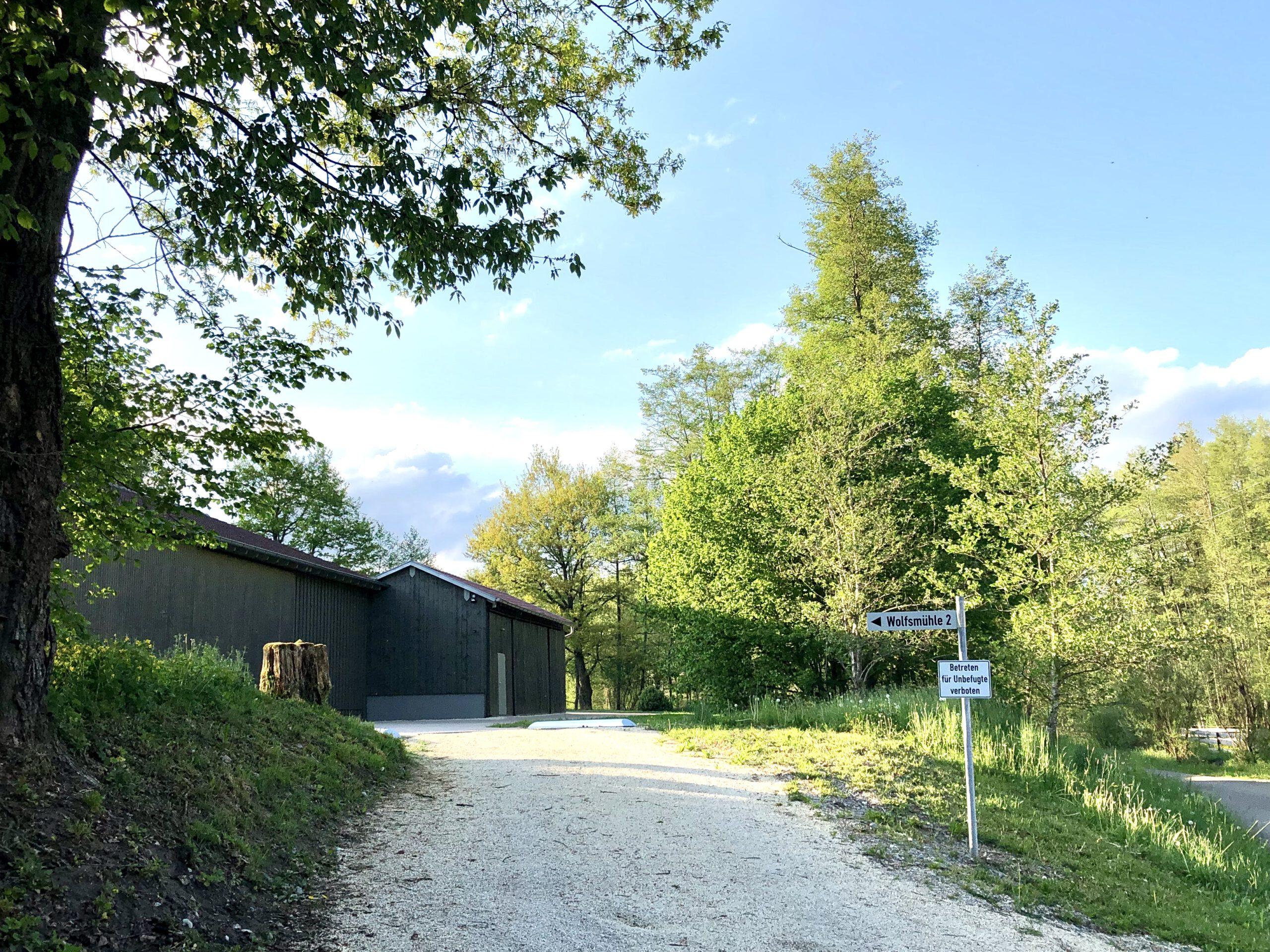 Auffahrt Wolfsmühle 2, Ferienhaus Welzheimer Wald